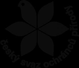 Logo ČSOP - černé